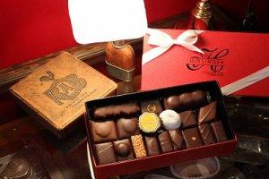 予約限定 フランス人間国宝が贈るバレンタインチョコ