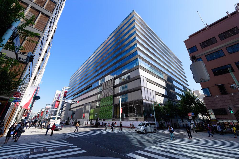 銀座にエリア最大級のラグジュアリー商業施設が誕生