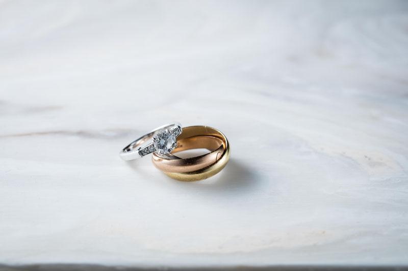 本当に気に入ったもので揃えた結婚&婚約指輪