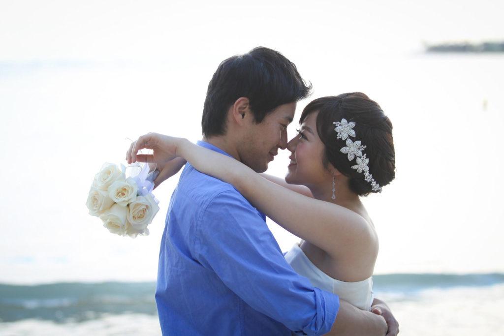 憧れと思い出で二人を結ぶ土地、ハワイでの挙式