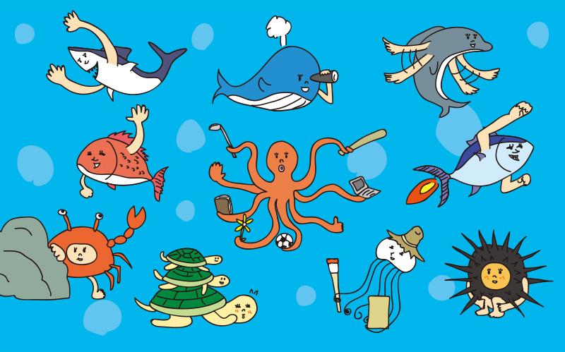 ♉Weekly♐海の生きもの占いが更新されました