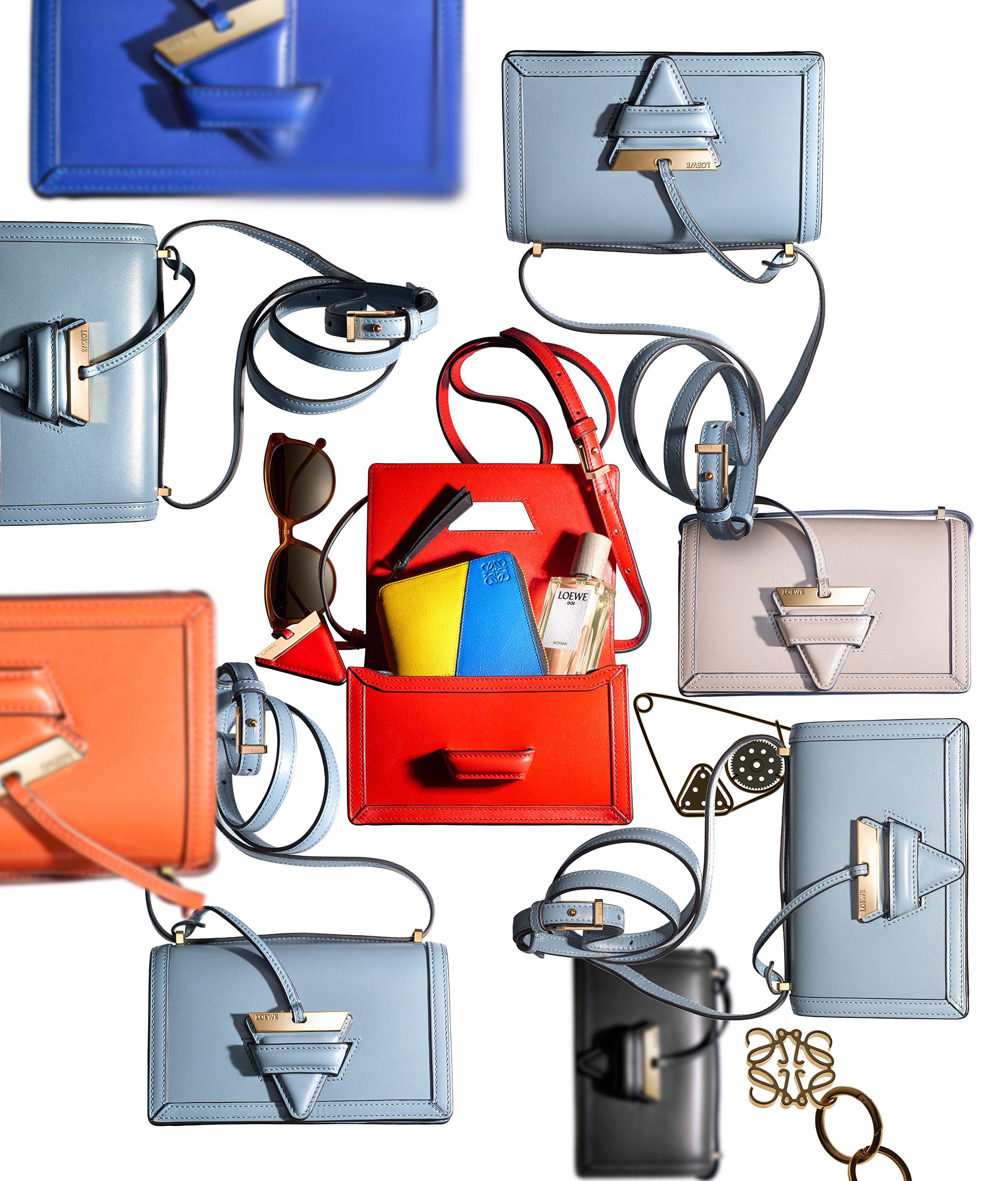 ロエベの「バルセロナ バッグ」に待望のスモールサイズが登場