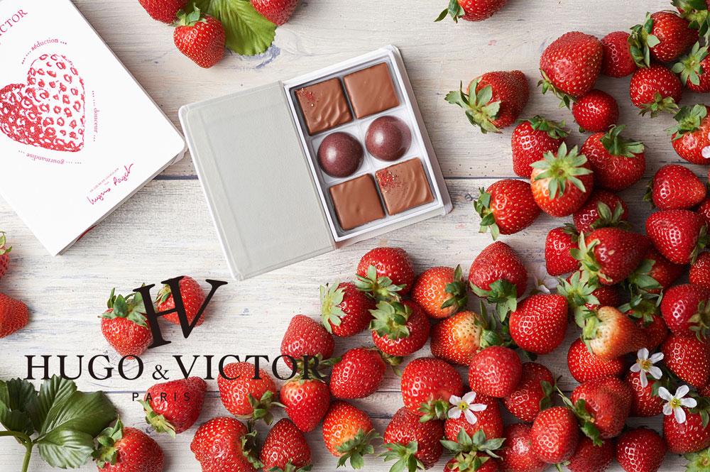 編集部でも人気なブランドのバレンタイン限定イチゴチョコレート