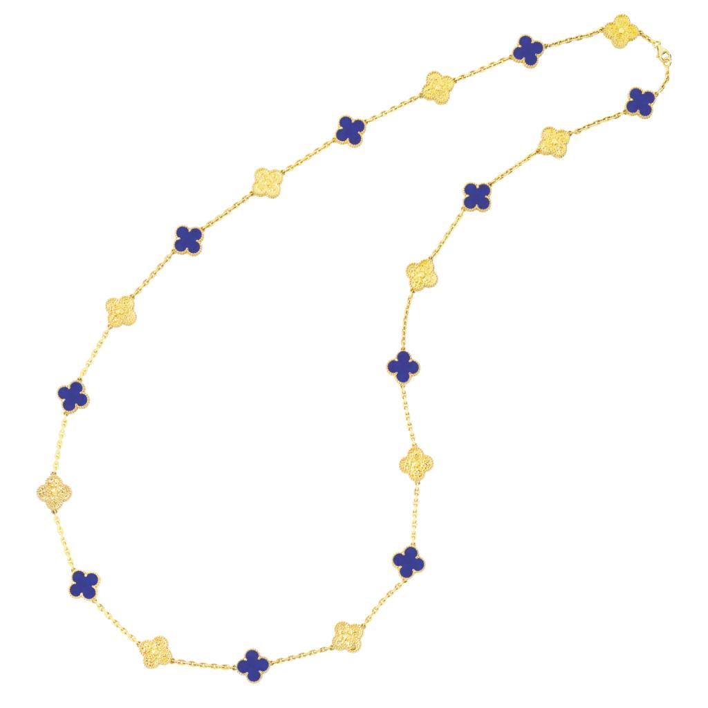 ヴァン クリーフ&アーペルの多彩なアルハンブラ コレクションが銀座本店に集結