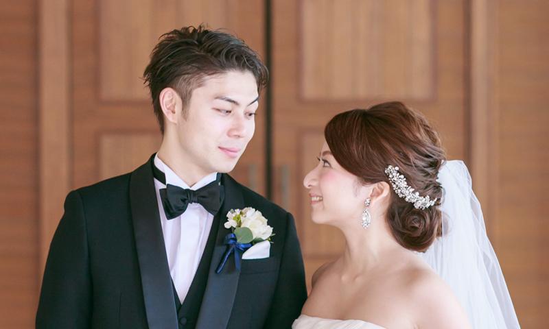 一目惚れした式場で大好きな彼と視線を交わした瞬間