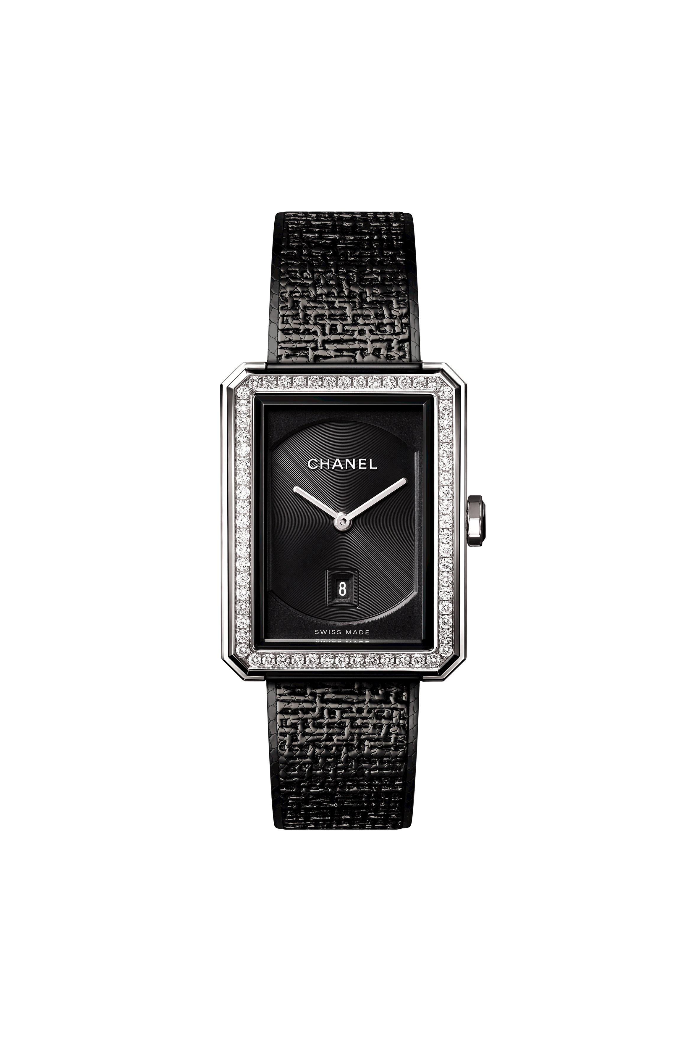 new product 871ac 1bf78 シャネルの時計「ボーイフレンド ツイード」から新作が登場