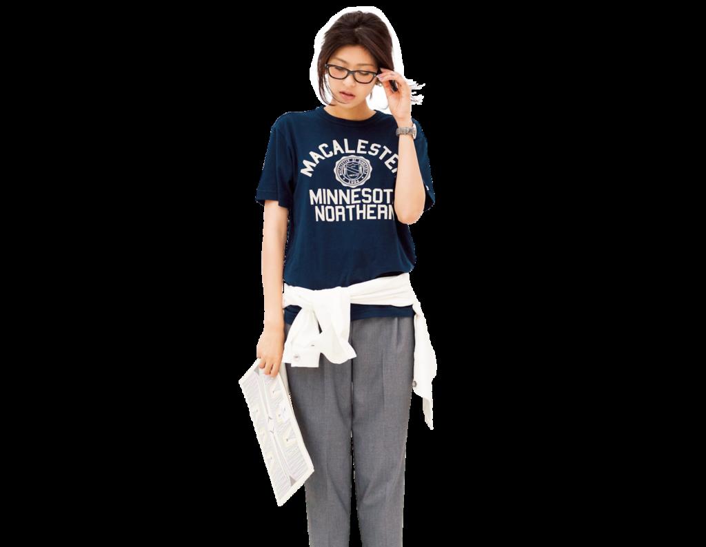 """骨格診断""""ナチュラル体型""""に似合うTシャツ"""