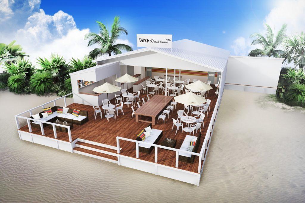 大好評のSABONプロデュースビーチハウスが今年もオープン!
