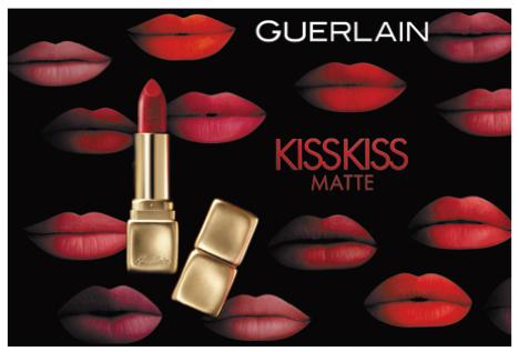 ゲランの新リップは誘惑する唇を作る「キスキス」