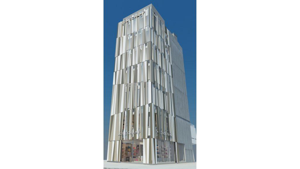 ロンシャンがアジア最大規模の旗艦店をオープン