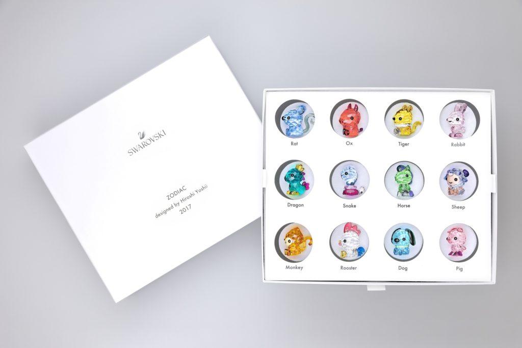 吉井宏氏デザインの干支のクリスタル・オブジェから スペシャルコレクターズボックスが数量限定発売中
