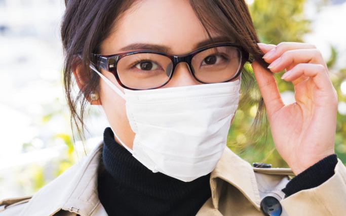 メークと眼鏡とマスクの正しい関係