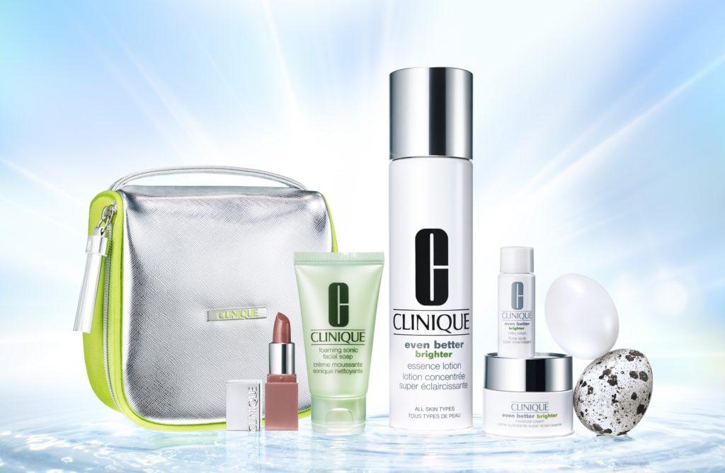 潤いと透明感あふれる均一に美しい肌へ クリニークから選べるローション セット誕生!