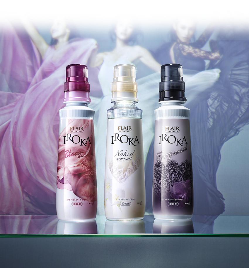 センシュアルな美、香りたつ。 「フレア フレグランス IROKA」リニューアル!