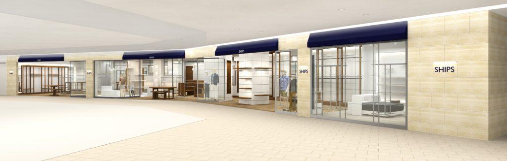 新静岡セノバに SHIPSの複合店がニューオープン!