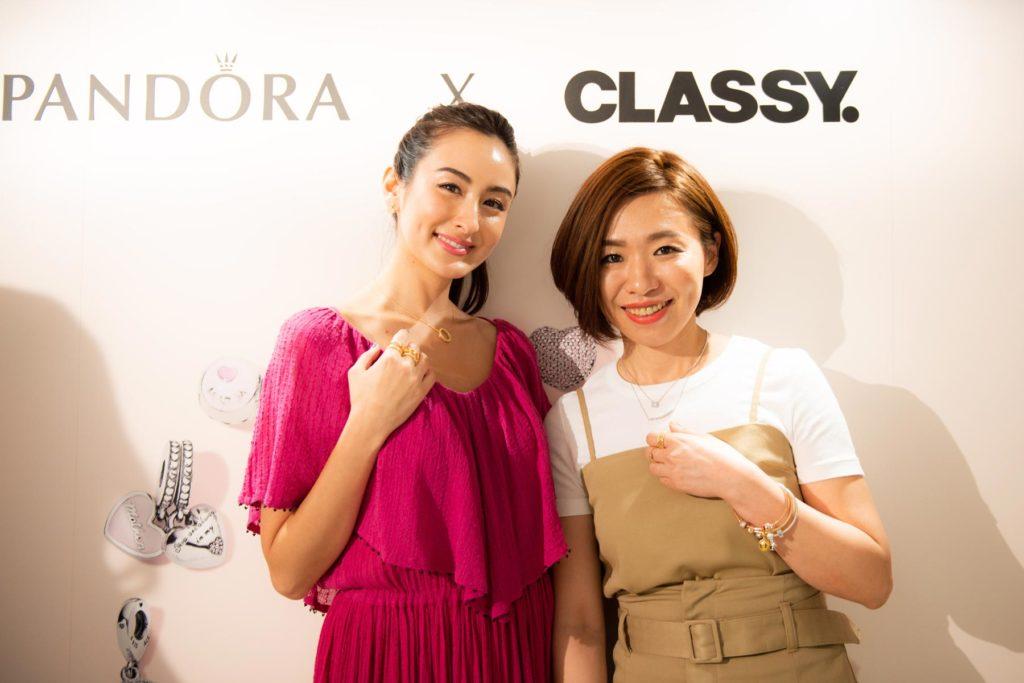 『PANDORA 銀座4丁目店オープン記念』CLASSY.×PANDORA スペシャルイベント報告