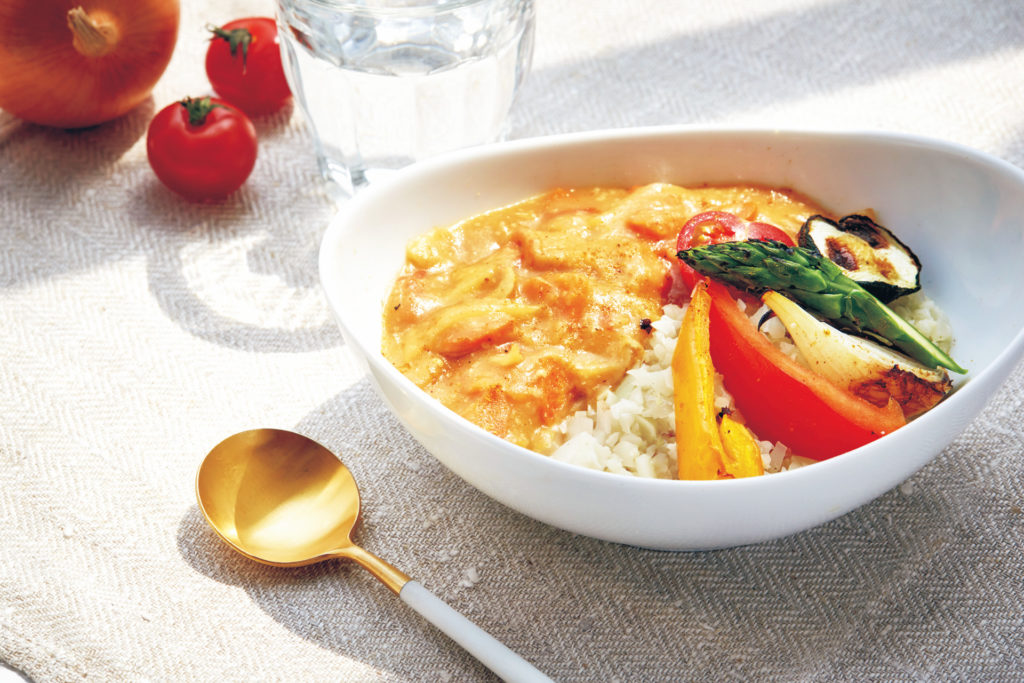 ごはん& パスタを野菜に置き換えダイエット