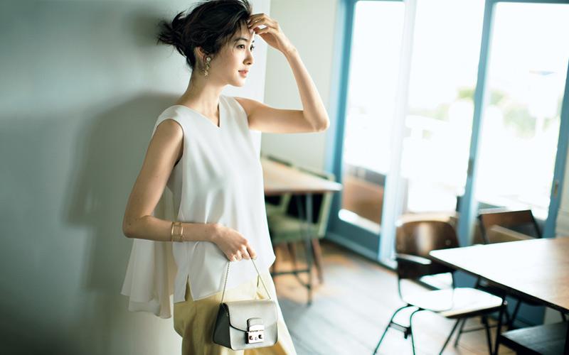 初夏の白コーデ、こう着ればうまくいく!