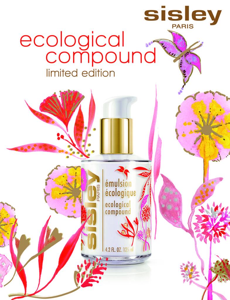 シスレー「エコロジカル コムパウンド」に 色彩豊かな自然を讃える、詩的なボトルが登場!