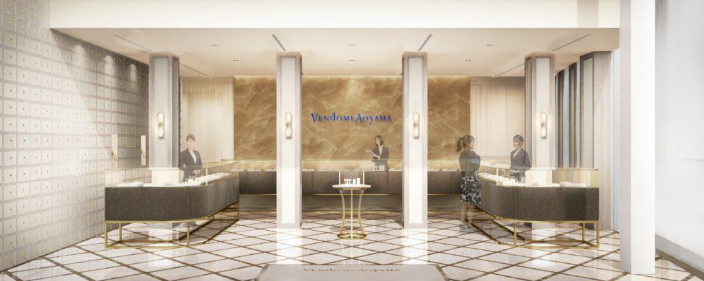 ヴァンドーム青山本店が上質で特別な空間にリニューアル!