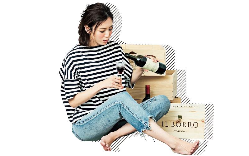 【7/12のコーデ】結婚式の引き出物のワインが山ほど残ってる。飲み切る頃には気持ちも吹っ切れているかな