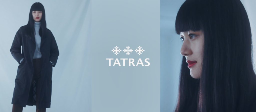 TATRASのティザーサイトで、POP-UP STORE&ファッションアイコン競演のムービーをチェック!