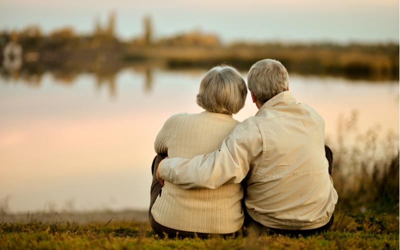 (1)老後を想像できるかどうか