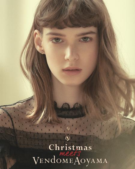 ヴァンドーム青山のジュエリーで過ごすクリスマス