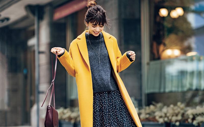流行のカラーコート、モテる色はどれですか?