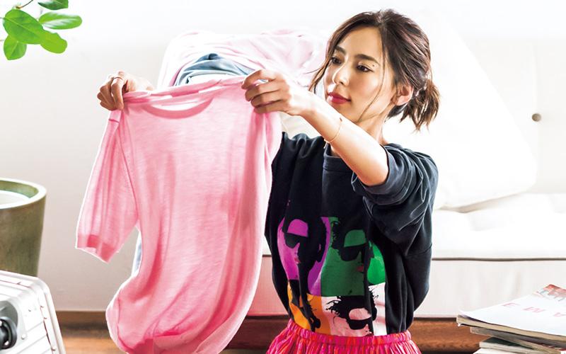 里子のリアル私服でお届けする着回しDiary エピソード②