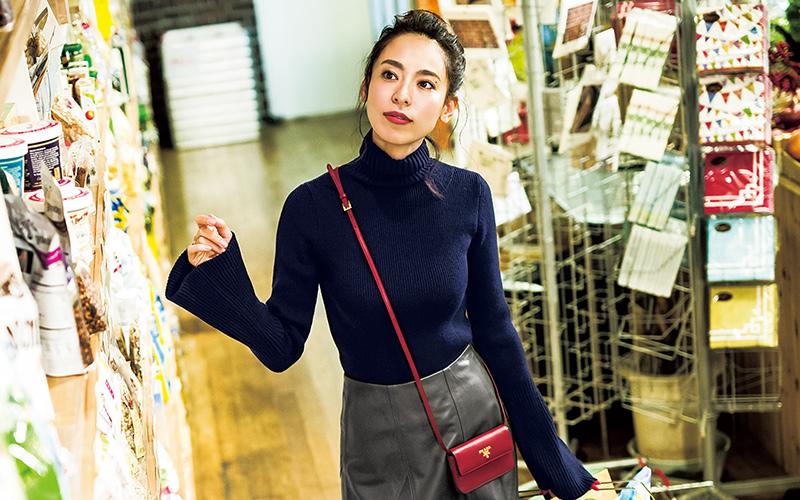 里子のリアル私服でお届けする着回しDiary エピソード③