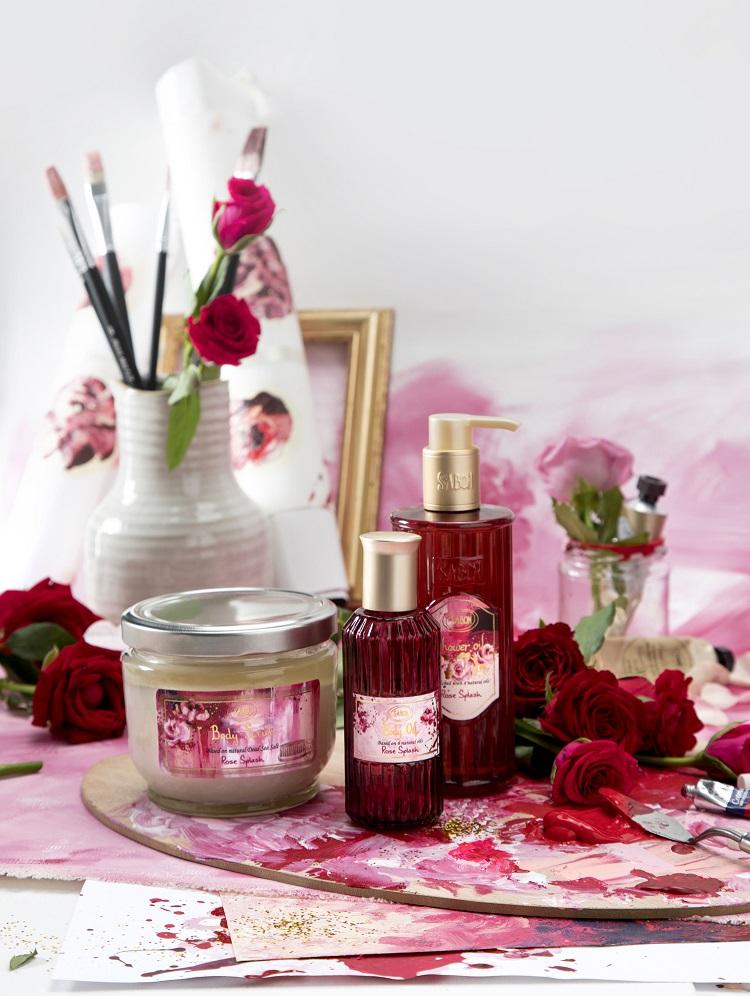 【バレンタイン限定コレクション】自分だけの「ピンク色」を作るバスグッズが気になる