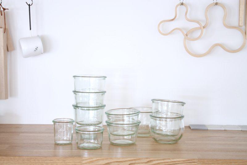 2.ガラスの保存容器