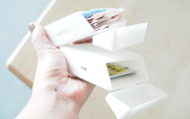 ■粉物調味料も詰め替えると使いやすい!