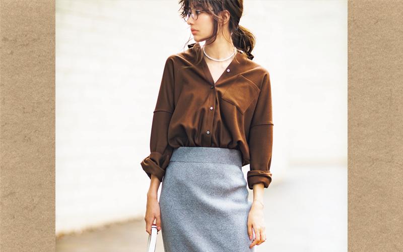 オフィスコーデがオシャレに変わる♡大人女子の「通勤ブラウンコーデ」BEST3
