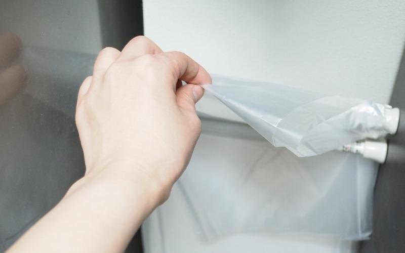 ダイソーのつっぱり棒があればすぐできる!簡単なのに優秀なゴミ袋収納術