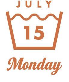 JULY15 Monday