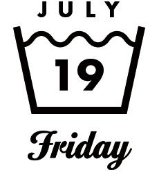 JULY19 Friday