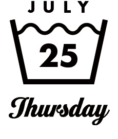 JULY25 Tuesday