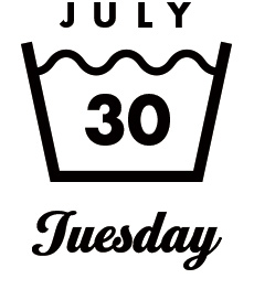 JULY30 Tuesday