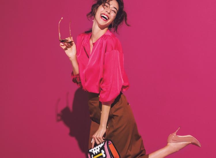 【今日の服装】大人女子が着る「ピンク」の正解コーデは?【アラサー女子】