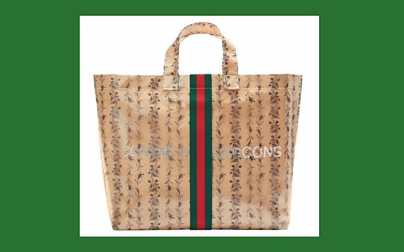【完売間違いなし】グッチ×コムデギャルソンのコラボバッグ、明日オンラインサイトにて発売!