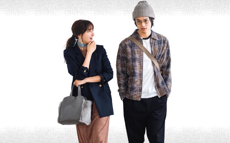 スカーフやファーバッグを効かせて、通勤コーデを更新【今日のコーデ|着回しDiary】